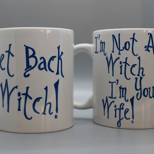 Get Back Witch! -Mug Set
