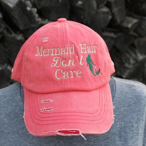 MERNAID HAIR - PONYTAIL HAT
