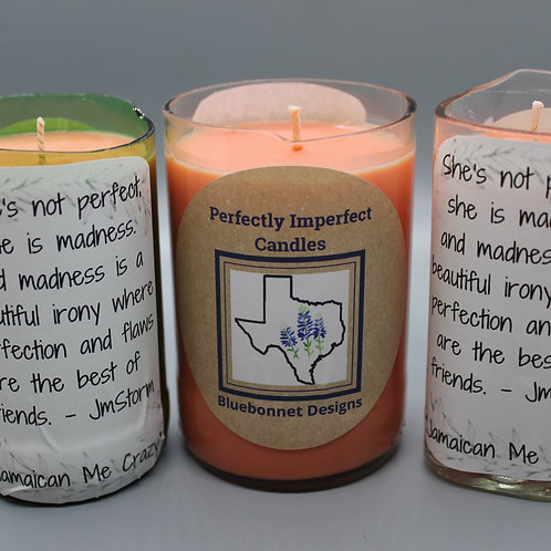 Perfectly Imperfect Candles -Jamaican Me Crazy
