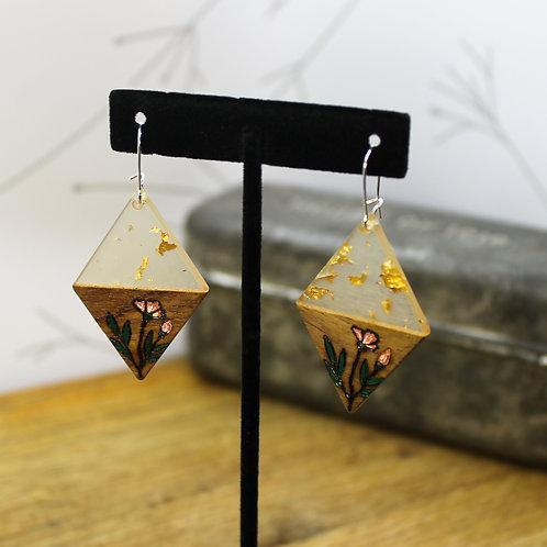 Gold Fleck Diamond
