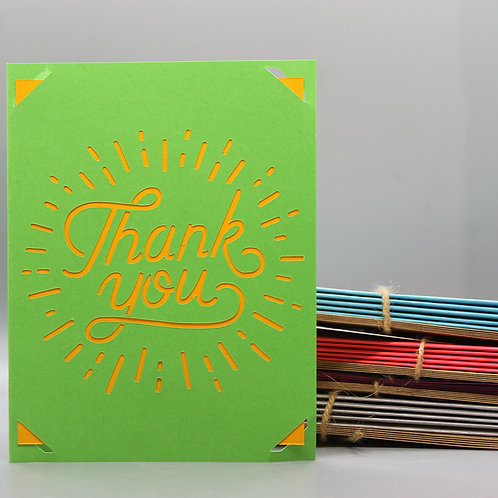Bright Thank You -Card