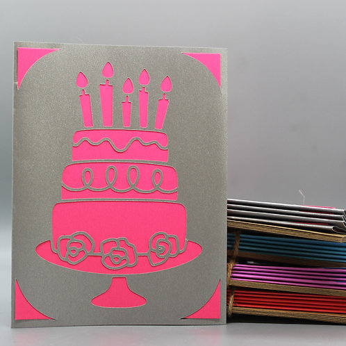 Birthday Cake -Card