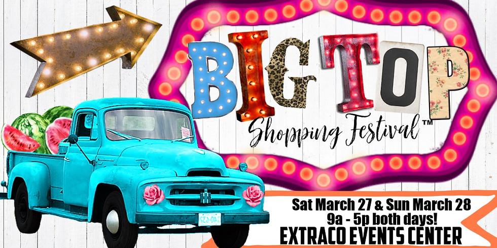 Big Top Shopping Festival