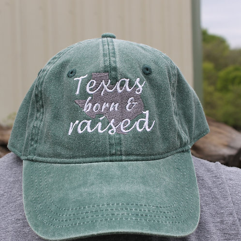 Texas Born & Raised- Hat