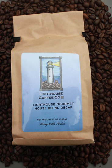 Lighthouse Gourmet Decaf Whole Bean