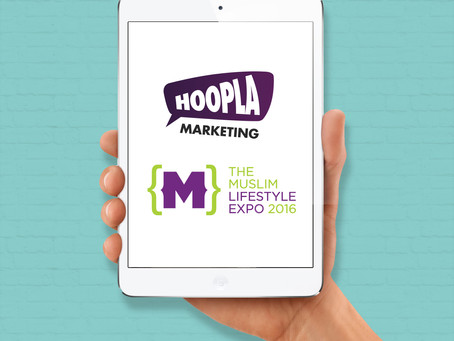 Muslim Lifestyle Exhibition appoint Hoopla to assist with their Social Media Marketing