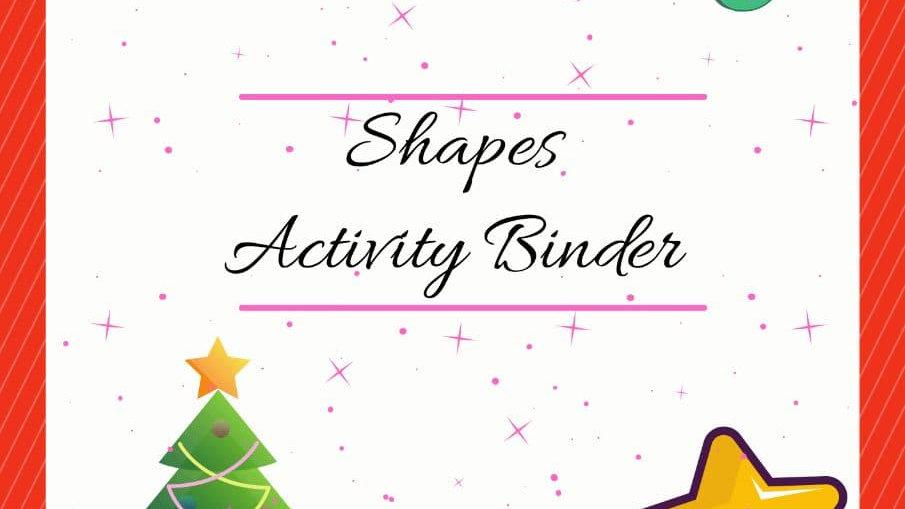 Shapes - Activity Binder