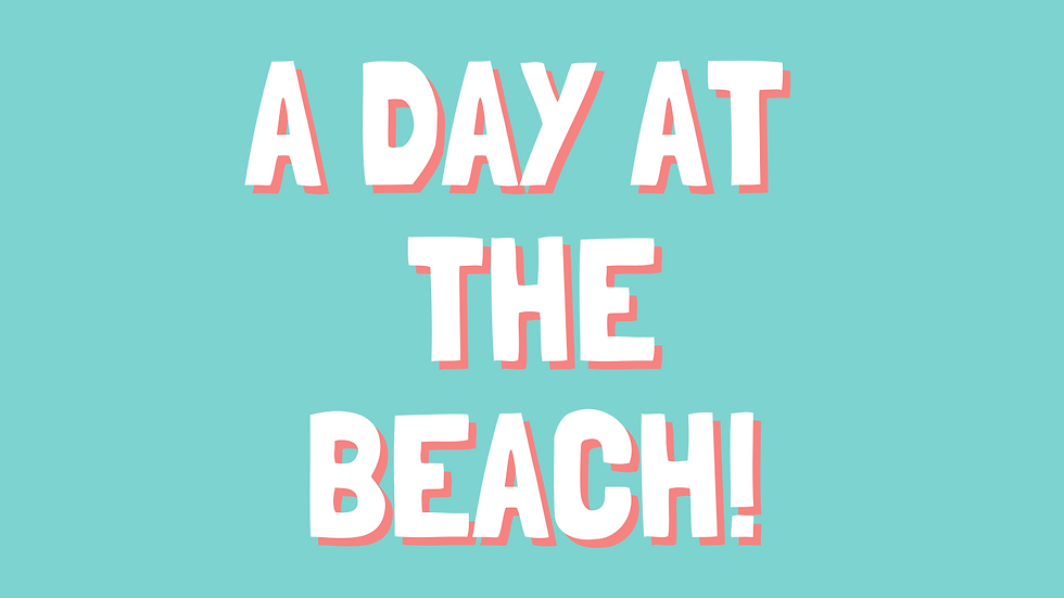 A Day at the Beach - Themed Bundle