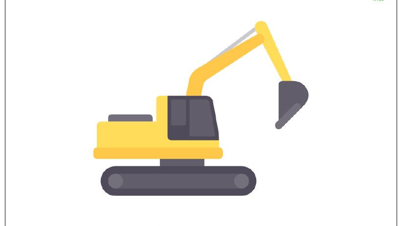 Construction Vehicle Poster