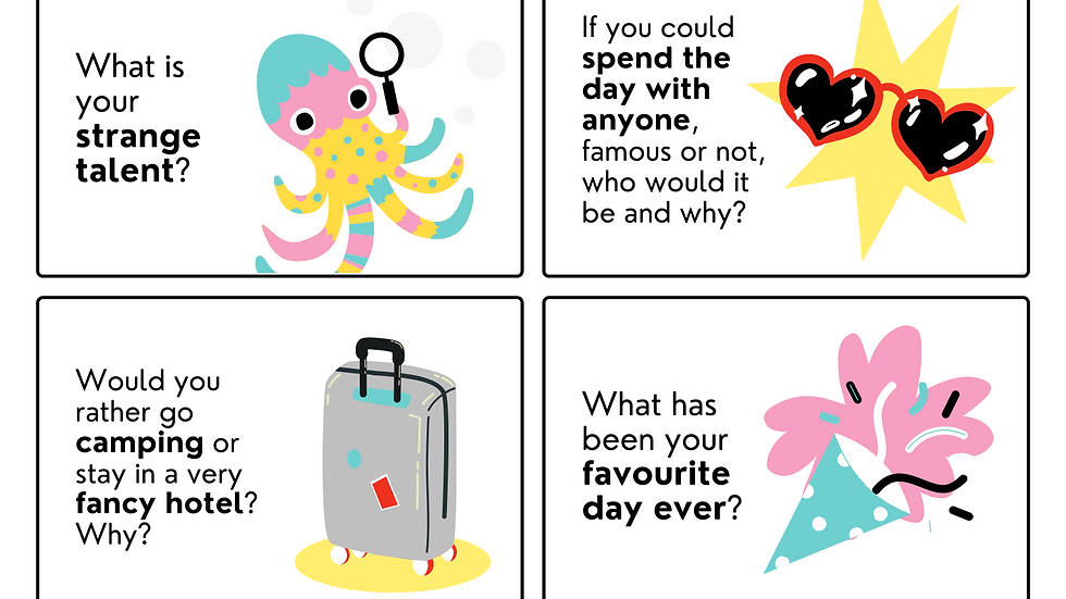 Conversation Starters for Kids - free