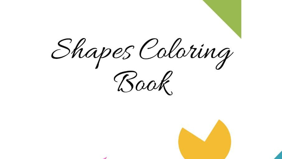 Colouring Book - Geometric Shapes