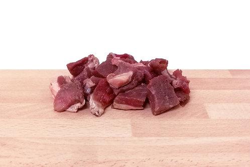Rindfleischwürfel 500 gr