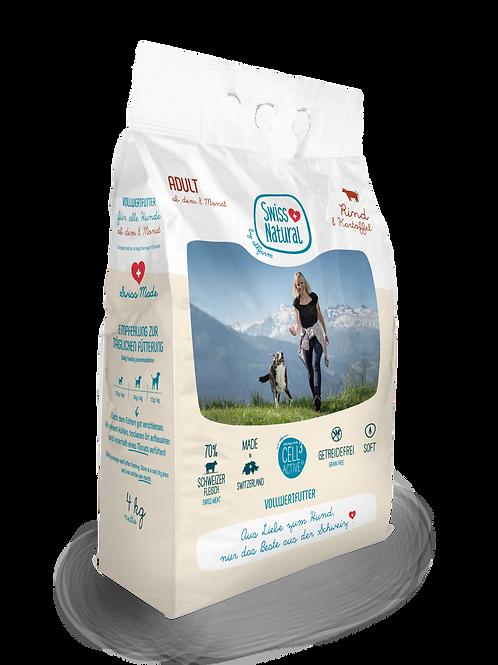 Swiss Natural Soft ADULT Rind & Kartoffel ab 4 kg