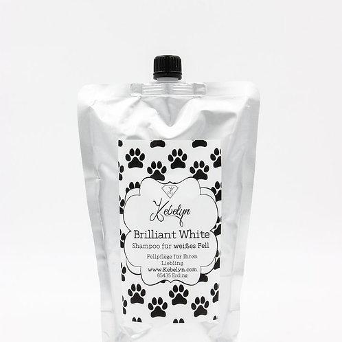 Brilliant White Shampoo Nachfüllpack 1000 ml für weißes Fel