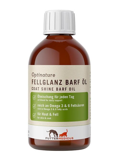 Optinature Fellglanz Barf Öl 250 ml