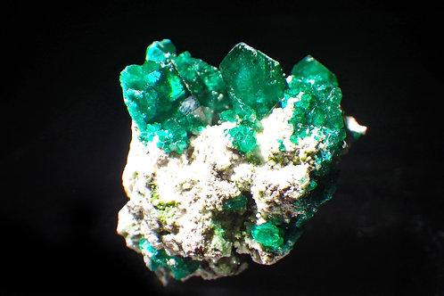 Dioptase / Namibia(翠銅鉱 / ナミビア)【507033】
