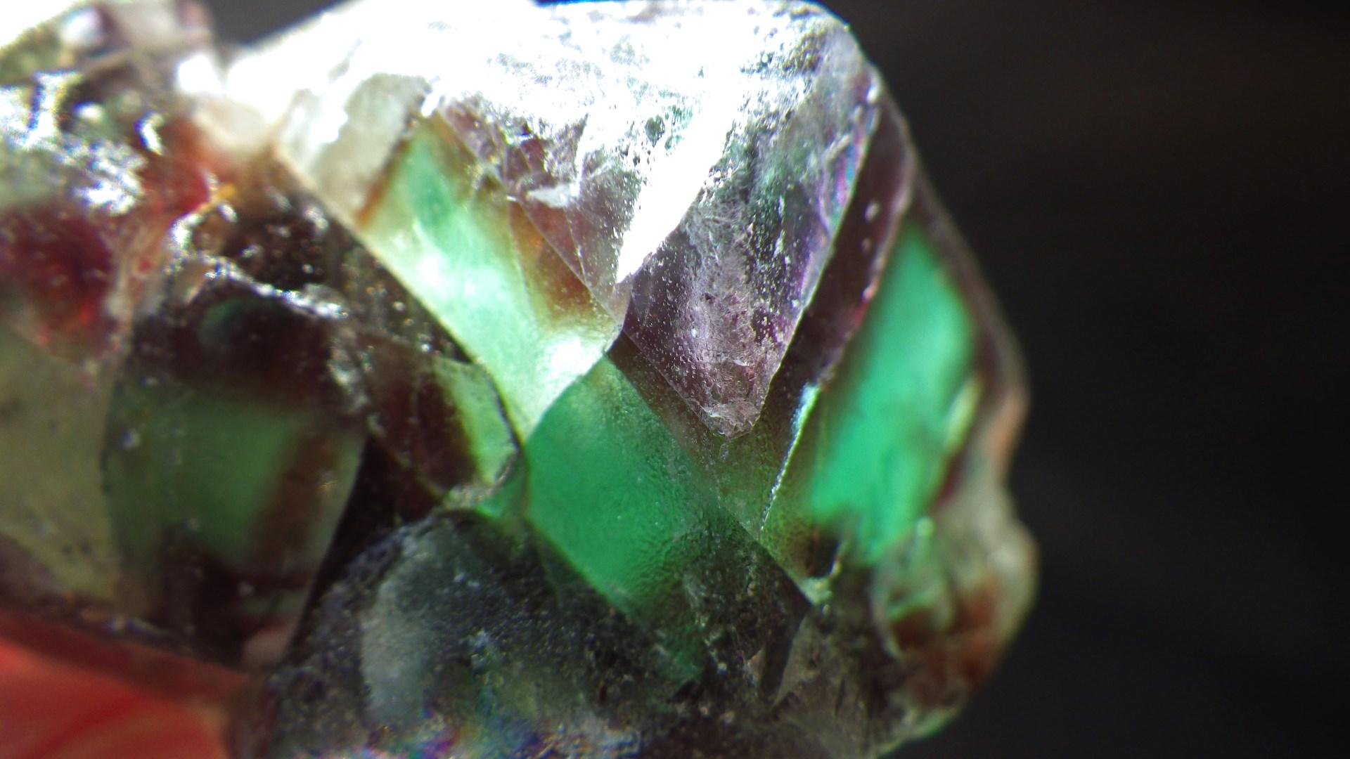 Fluorite ; Namibia