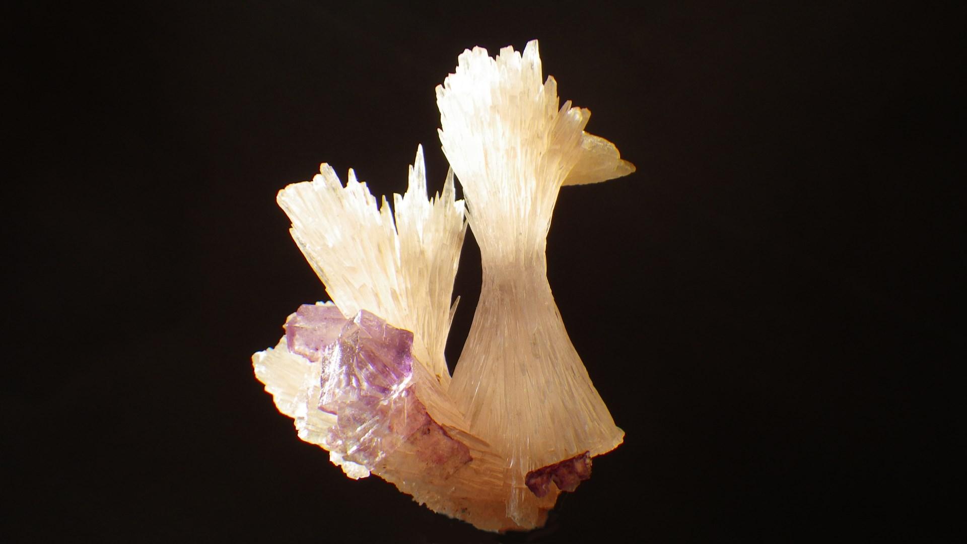Strontianite & Fluorite ; USA