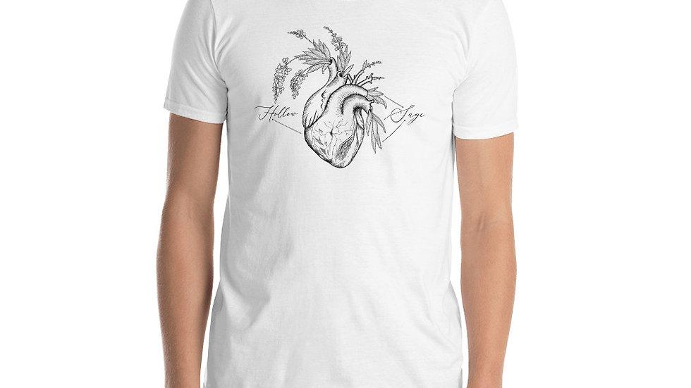 Hollowsage Heart Short-Sleeve Unisex T-Shirt