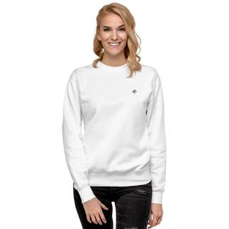 unisex-fleece-pullover-white-front-6065d