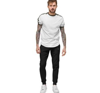unisex-fleece-sweatpants-black-front-606