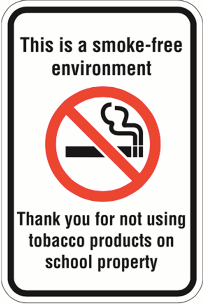 Thank you for not using tobacco products