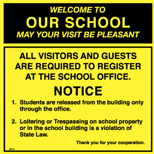 Welcome to our school may your visit be pleasant