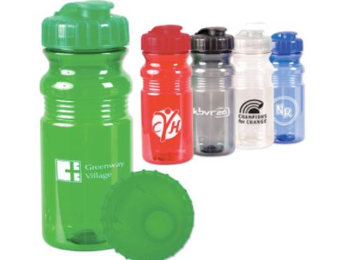 20 oz. Translucent Sport Bottle w/ Snap