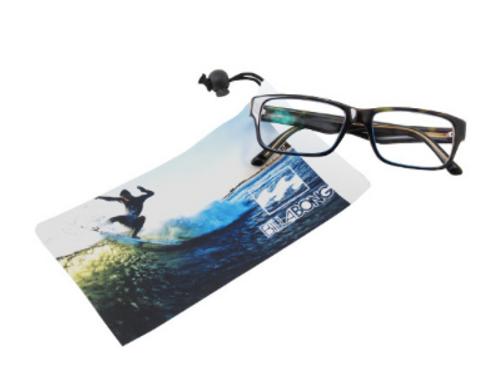 Full color drawstring microfiber smartphone & eyeglass case