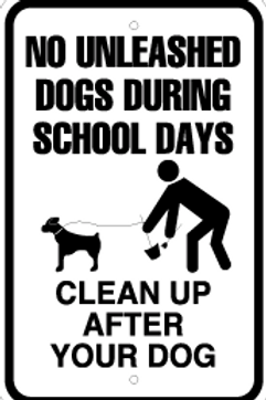 Dogs during school days