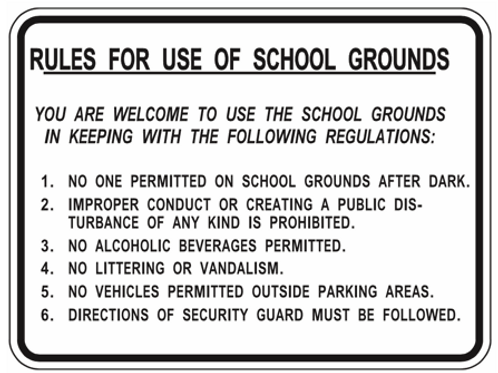 Rules in ground