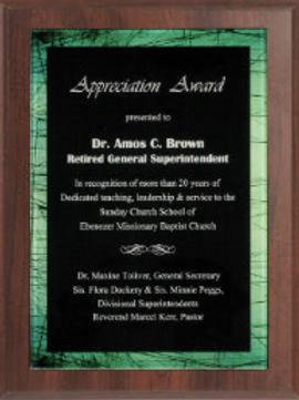 Appreciation Award