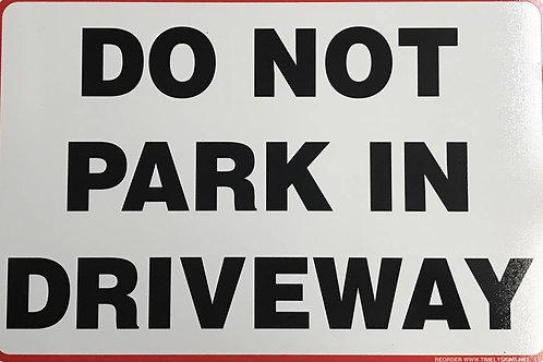 Do not Parking