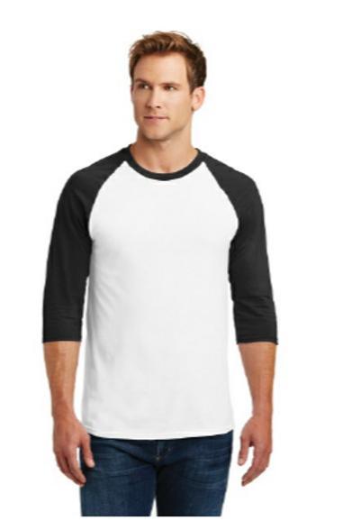 Product NameGildan Heavy Cotton 3/4-Sleeve Raglan T-Shirt