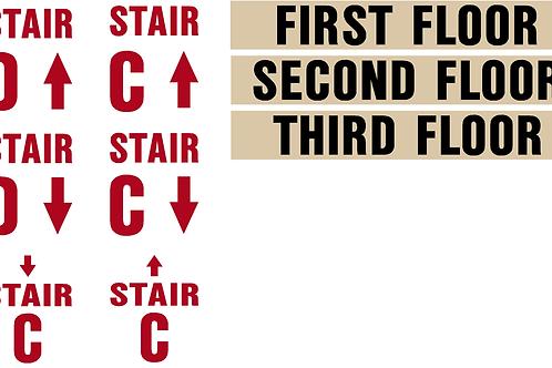Stairs, Floors