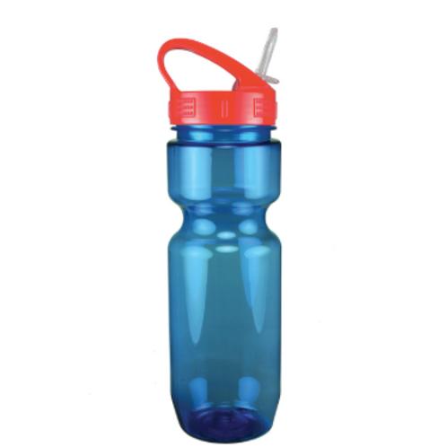 22 oz. Translucent Bike Bottle w/ Sport Sip Lid