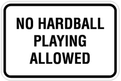 No hardball