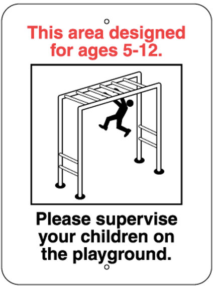 Please, supervise your children