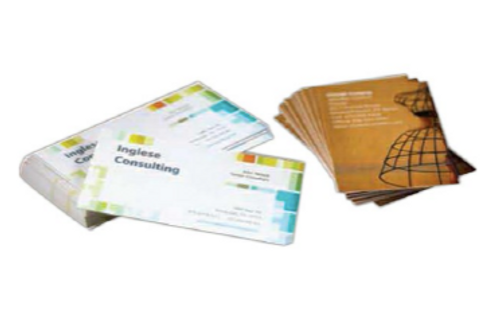 Full-Color Uncoated Business Card
