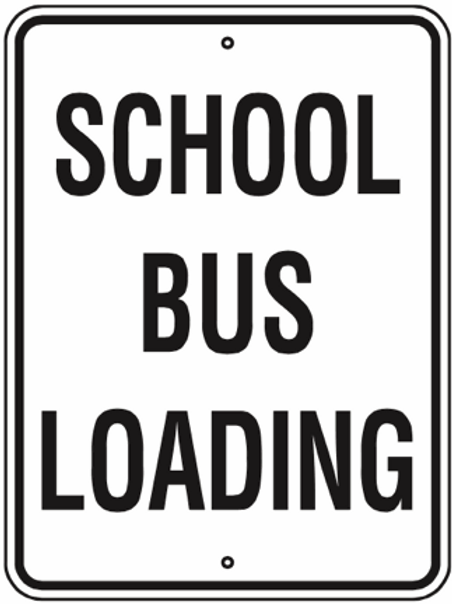 School bus loading