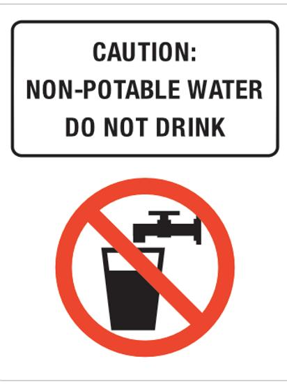 Non - portable water