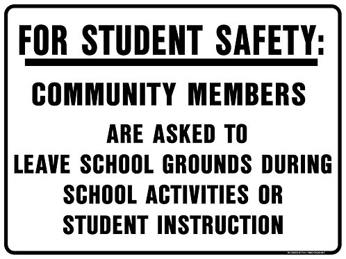 For Student Safety