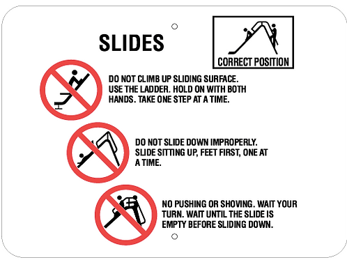 Correct position - Slides
