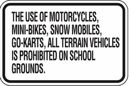 Prohibited on School grounds