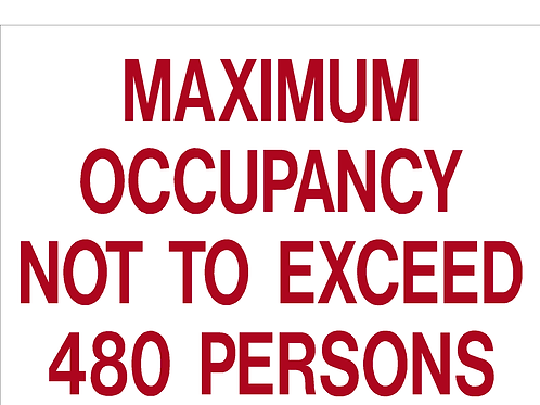 Maximum Occipancy