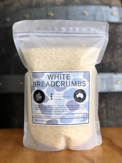Live a Little - White Breadcrumbs, 400g