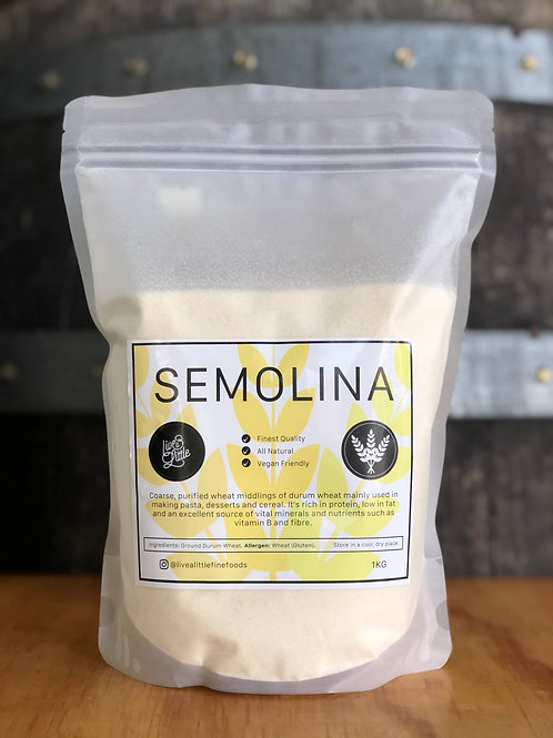 Live a Little - Semolina, 1KG