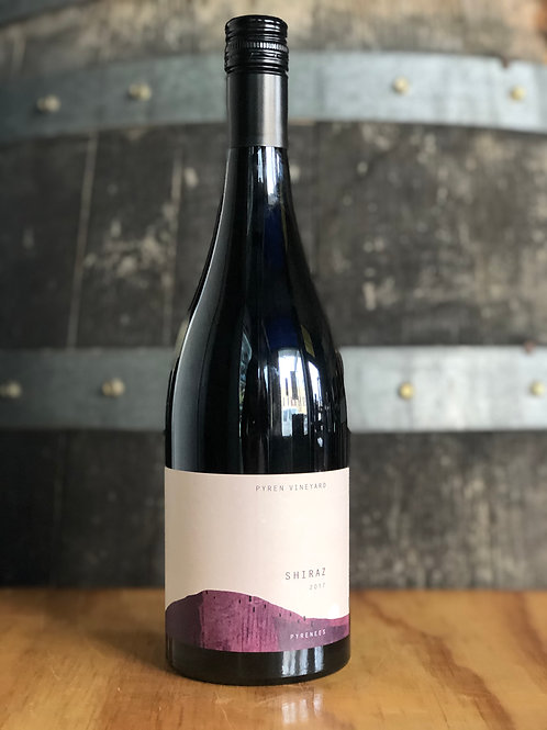 Pyren Vineyard Shiraz, 2017, 750mL