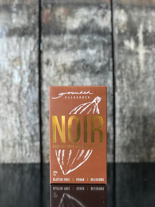 Grounded Pleasures - Noir Dark Drinking Chocolate, 200g