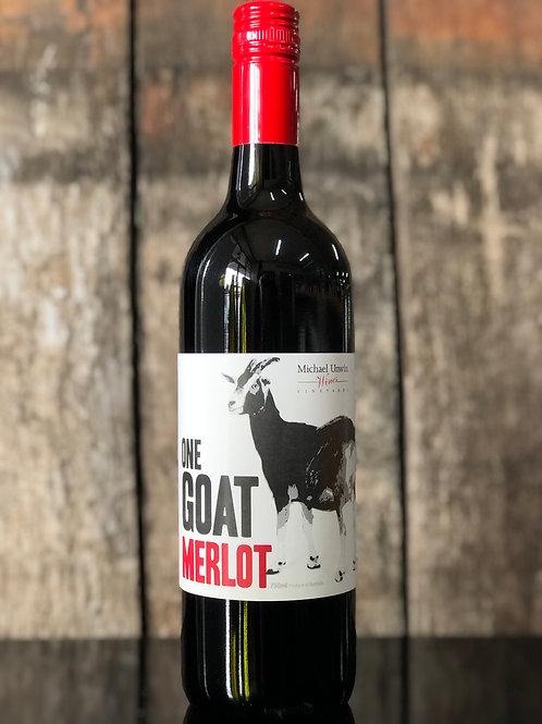 Michael Unwin One Goat Merlot 750mL